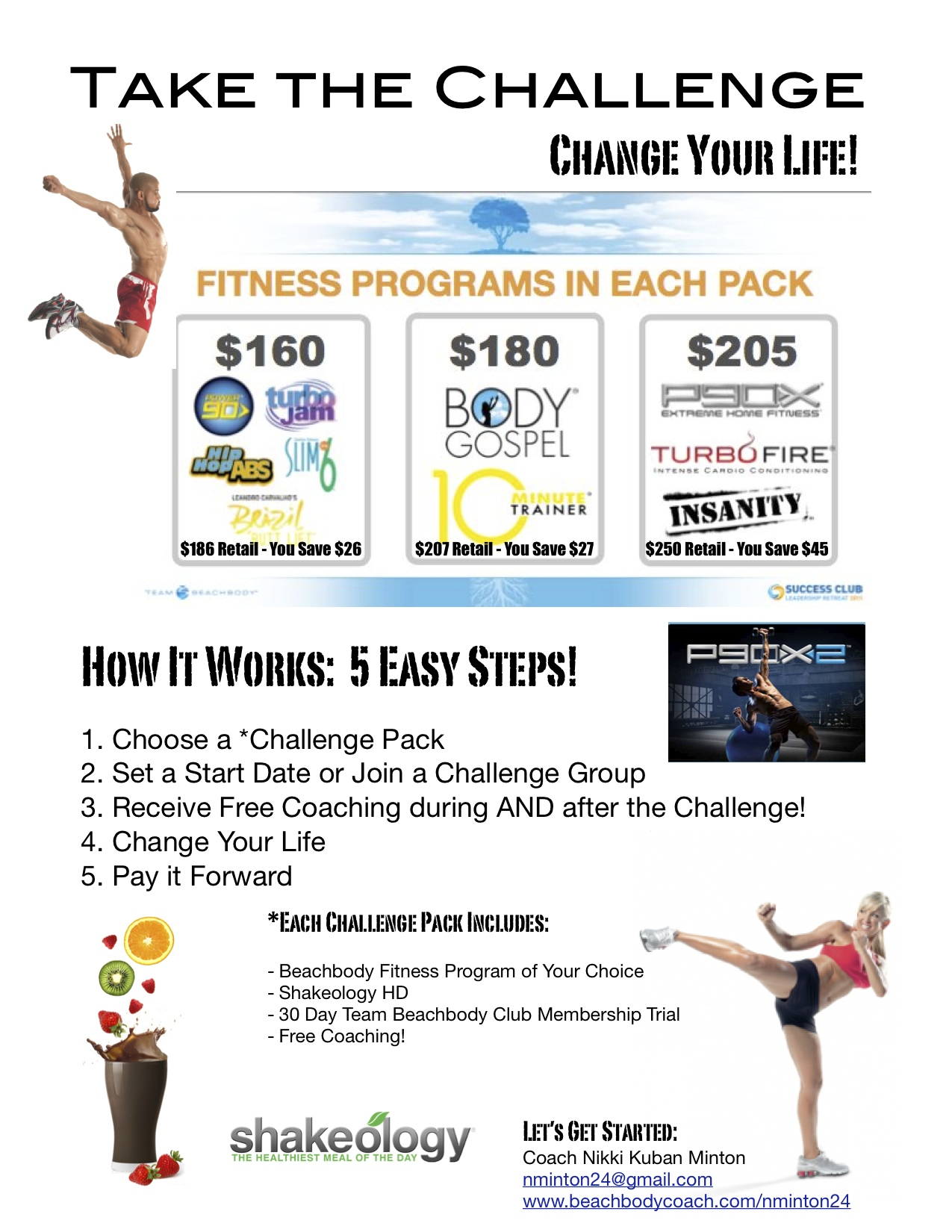beachbody challenge packages