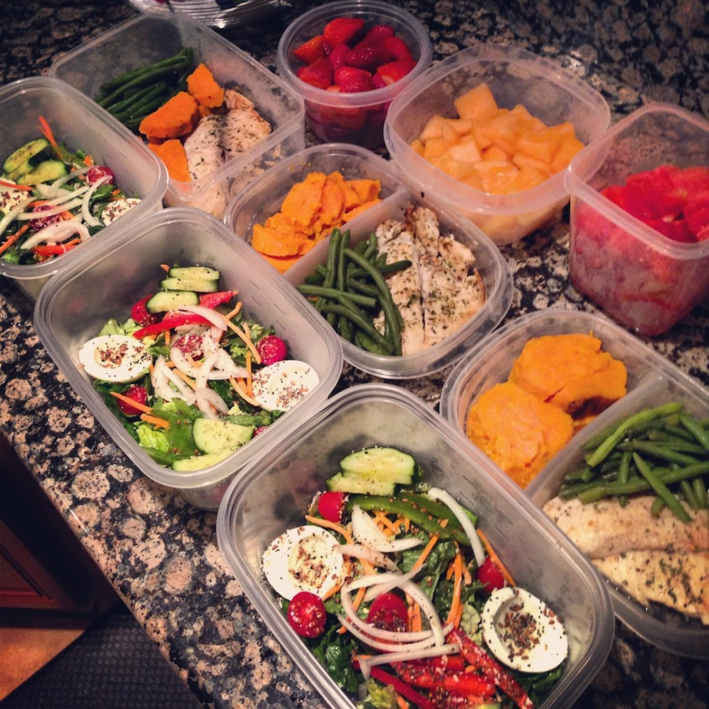 Daily diet meal plan template photo 2