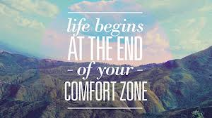 Life Begins outside of your Comfort ZOne, motivation, inspiration, fitness, success, business, results,