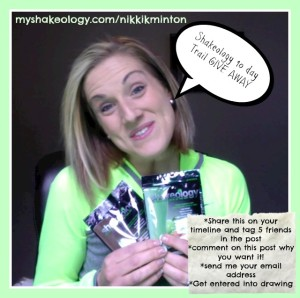 shakeology, free rail, giveaway, beachbody coach, health and fitness coach, team resurrection, try shakeology today