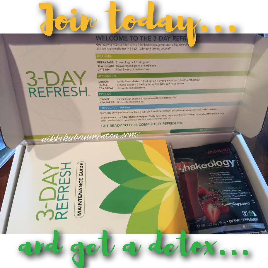 detox, 3 day refresh, beachbody, health, fitness