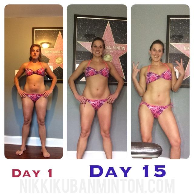 Insanity Max 30 2 week results – Nikki Kuban Minton