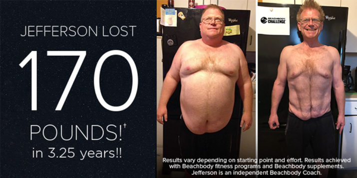 Transformation Tuesday: How one man lost 100 pounds in 6